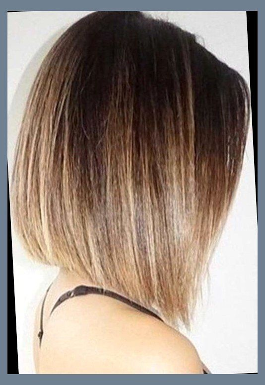 Ombre Inverted Bob Gleam Hairstyles Hair And Make Up