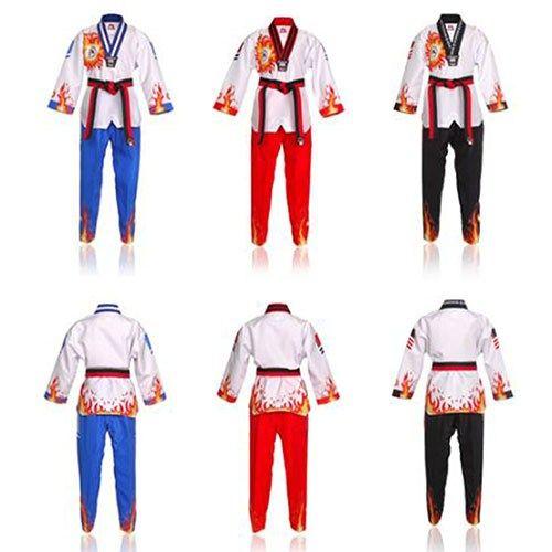 MUDOIN Taekwondo Poom Uniform – Flame Fighter Dobok