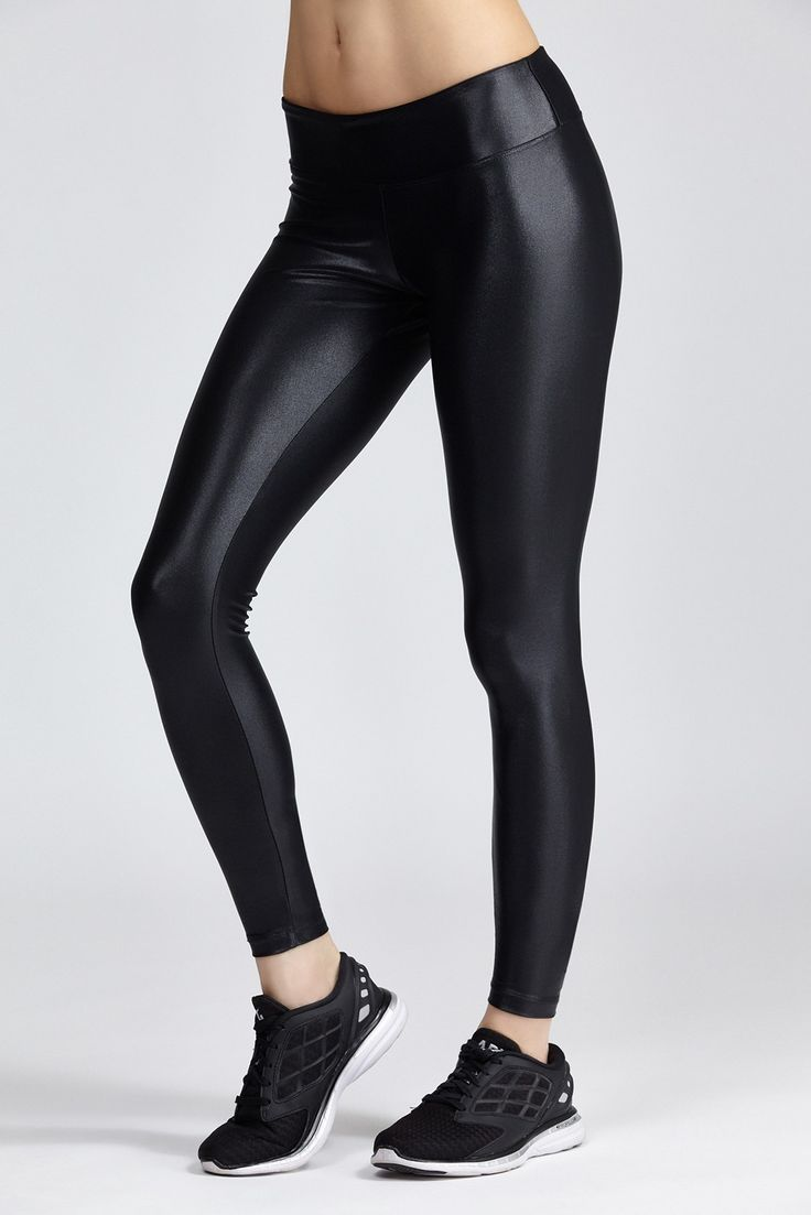 Koral's Lustrous leggings are simple yet sleek thanks to their super shiny finish. The perfect st...