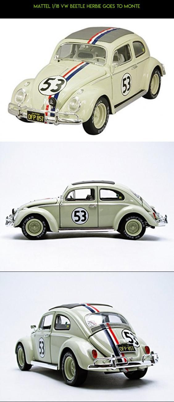 MATTEL 1/18 VW Beetle HERBIE GOES TO MONTE #parts #kyosho #fpv #plans #products #technology #shopping #racing #kit #gadgets #drone #beetle #camera #tech