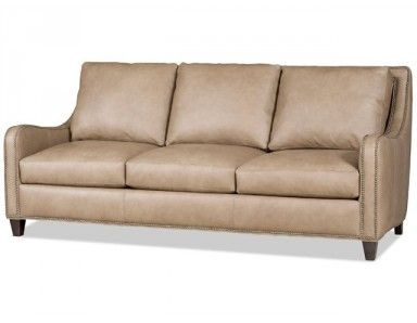 Bradington Young Greco Leather Sofa. Custom Made in the USA! : Leather Furniture Expo