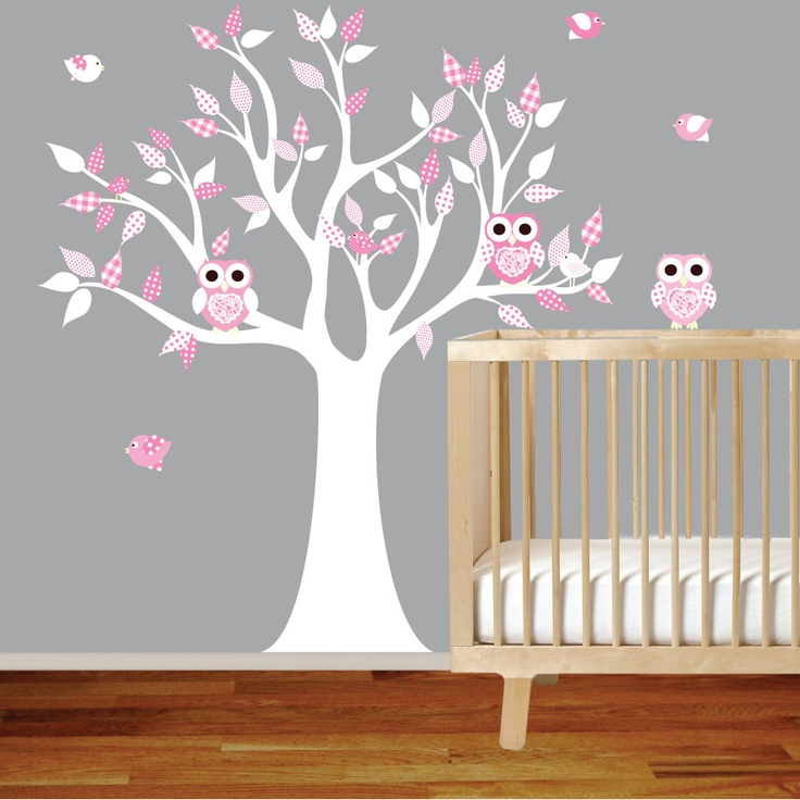 Best BIRD NURSERY GIRL Images On Pinterest Tree Wall Decals - Wall decals nursery girl