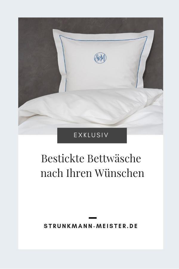 Wir Fertigen Nach Ihren Wunschen Exklusive Bettwasche Bettwaren