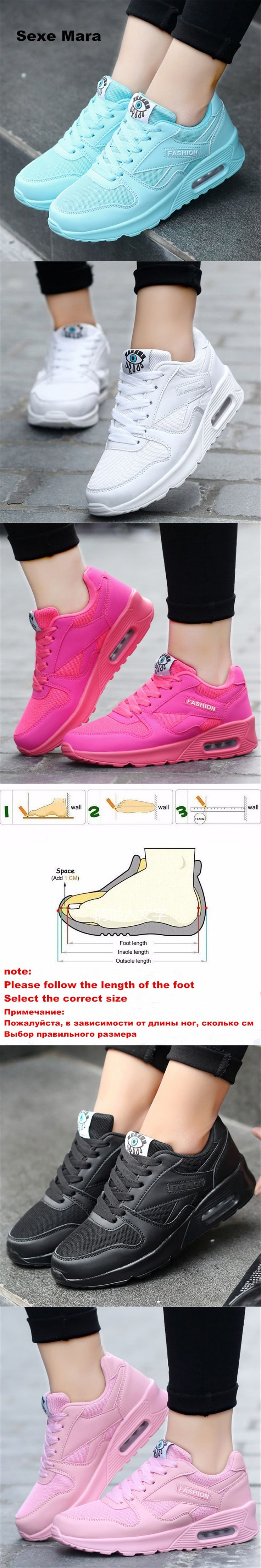 2017 Hot Sale Running shoes for women Sneakers women Arena shoes air damping Outdoor Sport shoes woman Trainers Athletic Walking