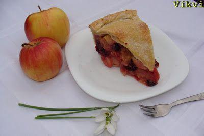 Almás pite fekete szederrel és áfonyával - No. 48