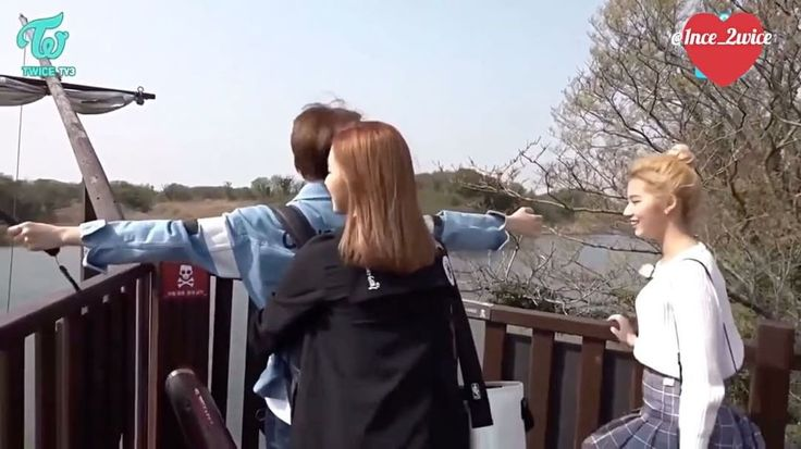 "Remember when Jeongyeon and Mina on 'We Got Married'""Jeongmi Couple""and theres Sana be a third wheelGosh see jeongmi linked arm togetherTheir moment are so preciousAnd look how focus jeong are when mina is talkingThe way mina help jeong hold her bag and jeong take her bag back from minaAwwwAnd that TITANIC POSE! Jeongmi backhug! Gosh its Mina the one who hug jeong first. This is rare viewLike once in a blue moon! Yeah you know how Mina are right?and theres Sana as third wheel againand that…"