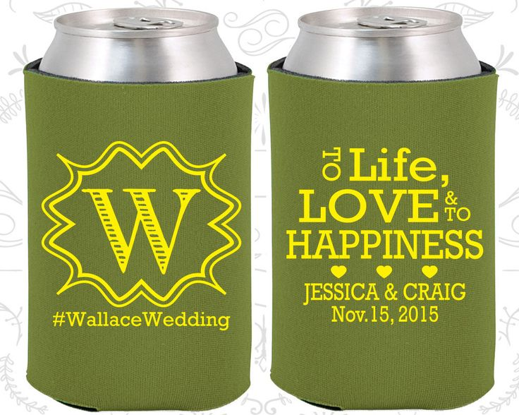 1000 Images About Wedding Koozies 2 On Pinterest