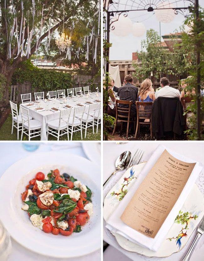 Best 25 small backyard weddings ideas on pinterest for Small wedding venue decoration ideas