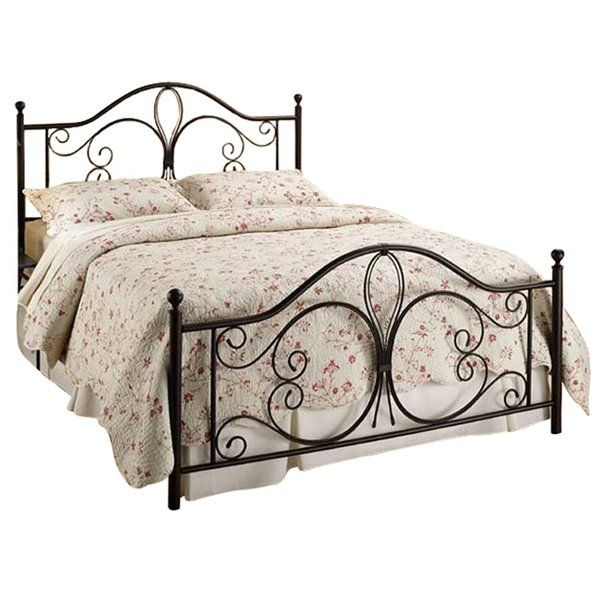 Classical beauty and traditional elegance are featured in the decorative metal grill headboard, footboard and bed rails of the Bed. Constructed of fully welded heavy gauge square tubing and solid wire, the Bed is sturdy enough to last for years.