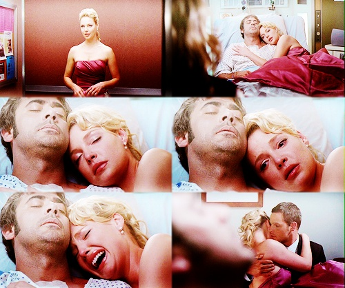 Why did this montage of pictures make me cry? :( Izzie and Denny<3