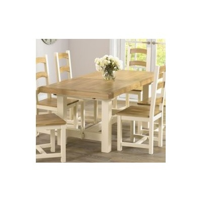Mark Harris Furniture Marino Oak Dining Table | Wayfair UK (£537)