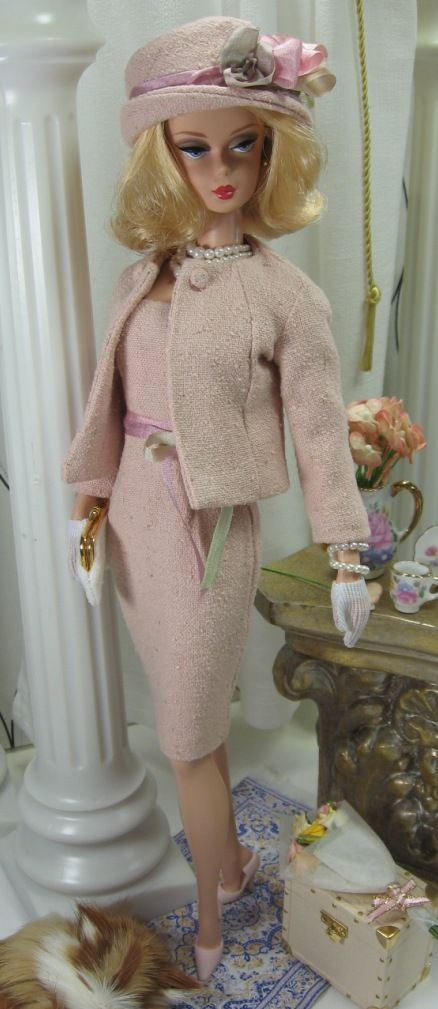 Whisper of Pink For Silkstone Barbie on Etsy soon