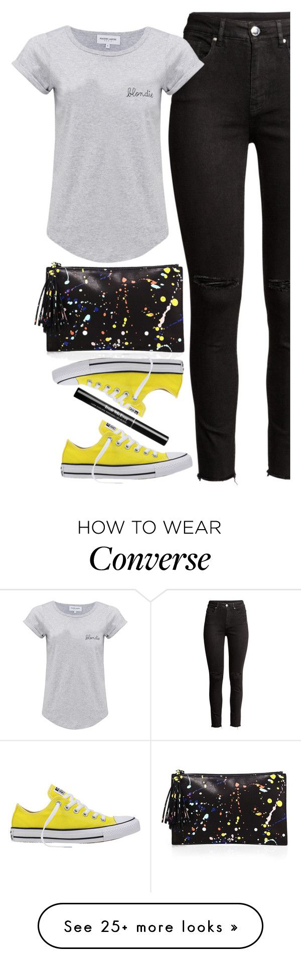 """love story"" by ecem1 on Polyvore featuring Maison Labiche, Loeffler Randall and Converse"