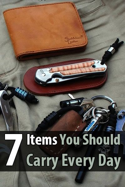 Occasionally you're going to go somewhere on foot and have nothing on you except what you can carry in your pockets. So what should you carry?