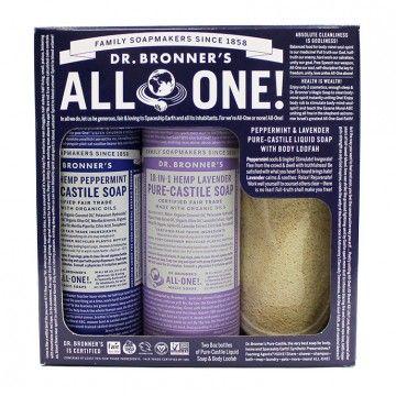 Peppermint Lavender Pure Castile Soap Gift Set