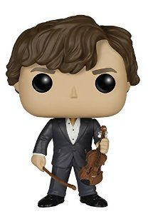 Sherlock - Sherlock Holmes With Violin: Funko Pop! Television:: Amazon.co.uk: Toys & Games