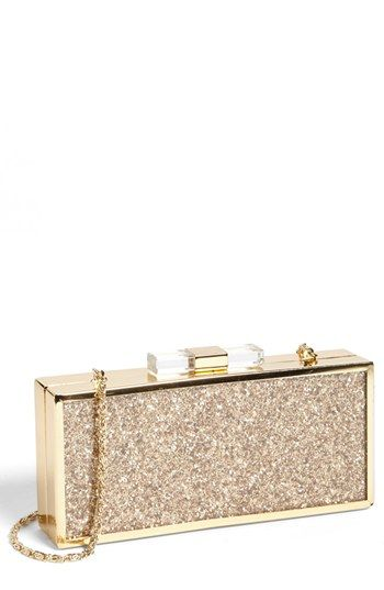Jessica McClintock 'Cake' Glitter Minaudiere available at #Nordstrom