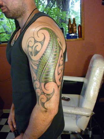 tattoo ideas for men half sleeve SILVER FERN - Google Search