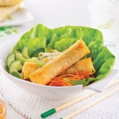 Rouleaux impériaux cuits au four - Recettes - Cuisine et nutrition - Pratico Pratique