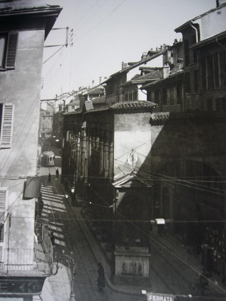 Vecchia Milano - Colonne di San Lorenzo 1930