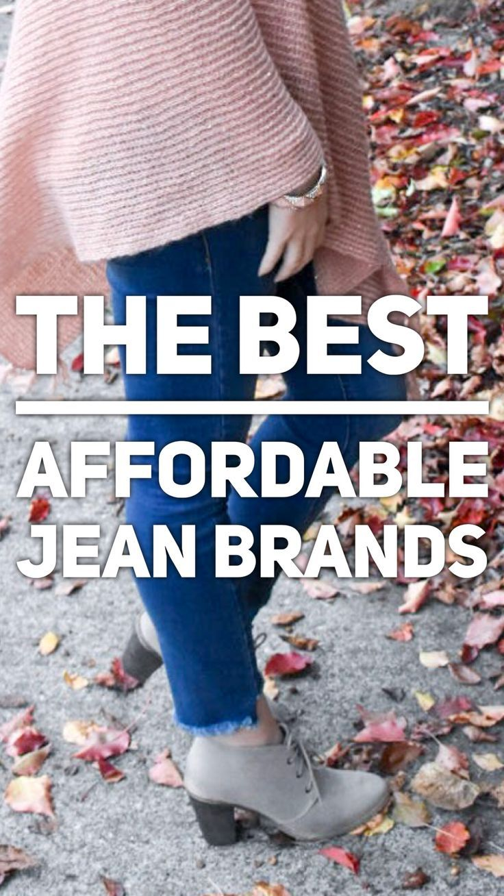 The best affordable jean brands