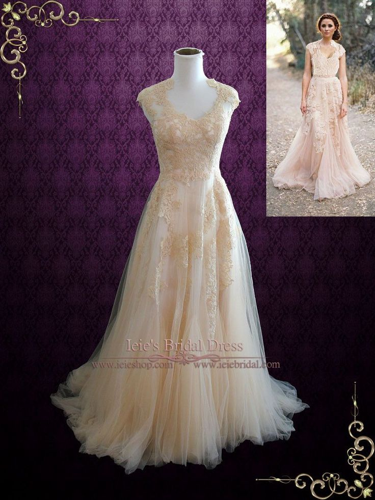 Dress Info Ordering at Ieie's Custom Designs So soft and romantic, featuring beautiful soft V shaped neckline finished with a soft tulle lace skirt that drapes down nicely.  See our lovely bride in this dress.This dress can also be made in all ivory or white. Working Time:  8-10 weeks Rush Order please inquire prior to order. Ieie's Brides   Ordering Your Wedding Dress at Ieie's Dress We understand how difficult it is to purchase a wedding dress online.  At Ieie's Dress Boutique, we will go…