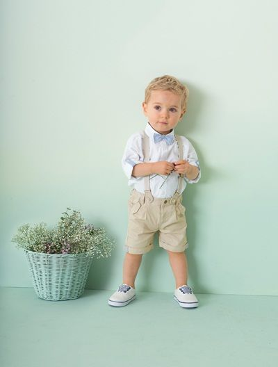 Ensemble de cérémonie bébé garçon 3 pièces Blanc - vertbaudet enfant