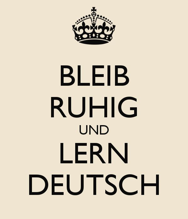 BLEIB RUHIG UND LERN DEUTSCH - KEEP CALM AND CARRY ON Image Generator - brought to you by the Ministry of Information