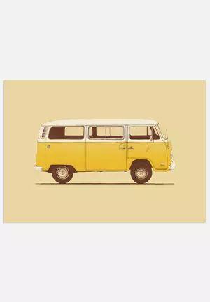 Famous Car #3 - Little Miss Sunshine's VW Combi T2