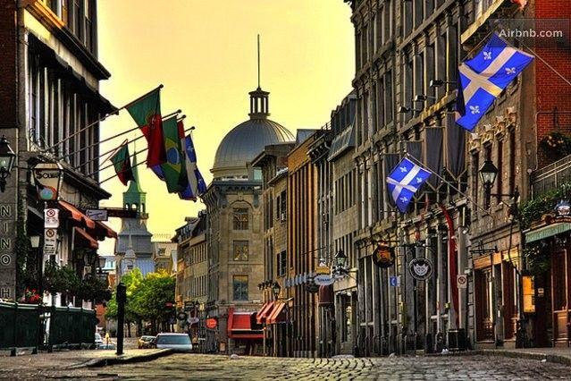 Saint Paul street, Old Montreal