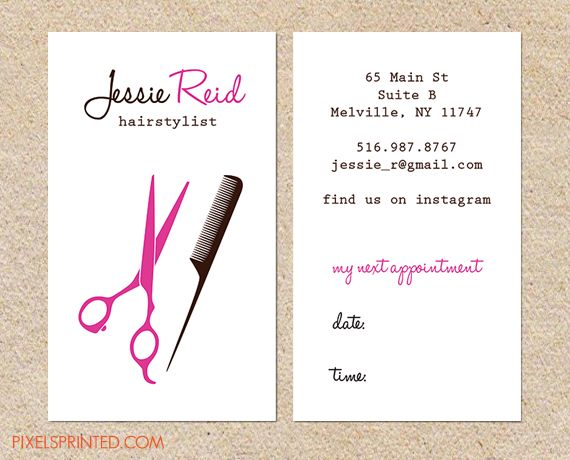 17 Best ideas about Hairstylist Business Cards on Pinterest ...