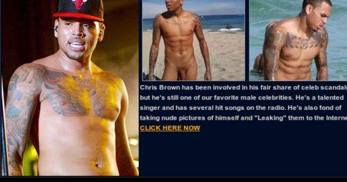 Chris brown nude