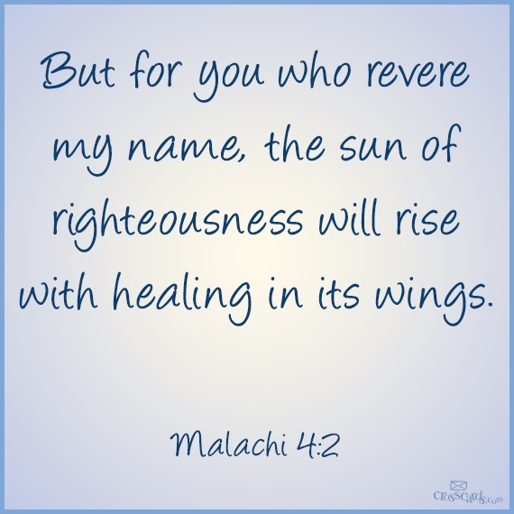 11 best verses from the bible images on pinterest bible verses malachi 42 fandeluxe Choice Image