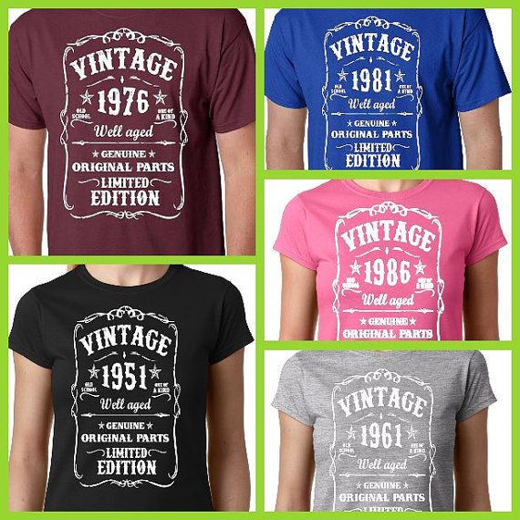 1000 images about birthday tees on pinterest 30 years for Custom t shirts add photo