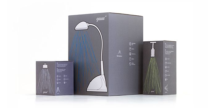 Gauss LED Packaging — The Dieline - Package Design Resource