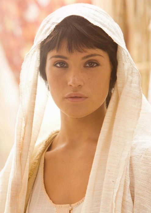 "Gemma Arterton as Perseus's wife, Io. #her character passed away in ""Wrath of the Titans"""