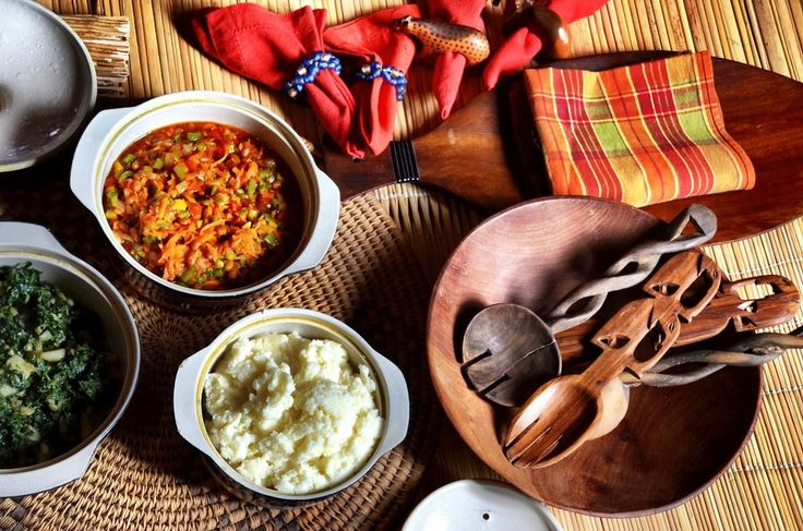 Xhosa lunch in Kayamandi township experience. Stellenbosch Wine Routes, South Africa