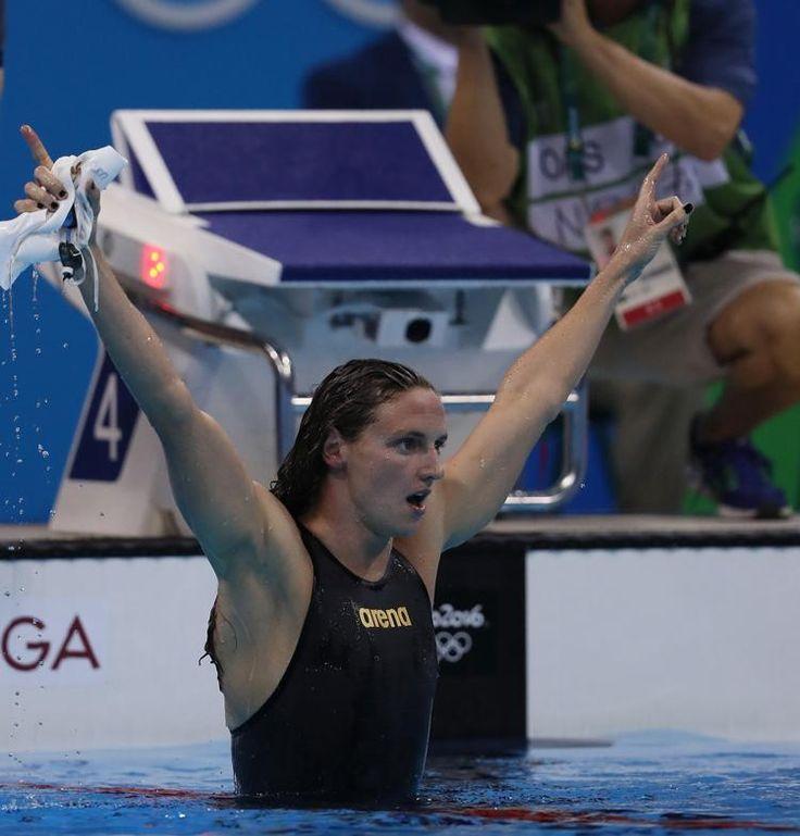 Hosszú Katinka világrekorddal aranyérmes 400 vegyesen! - Rió 2016