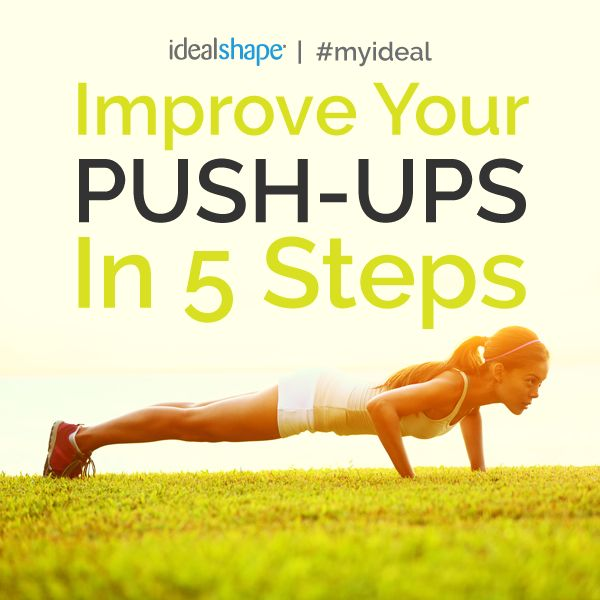 Many individuals struggle with the proper form of a pushup. Because of this, we have dedicated a full post to help you improve your pushups.