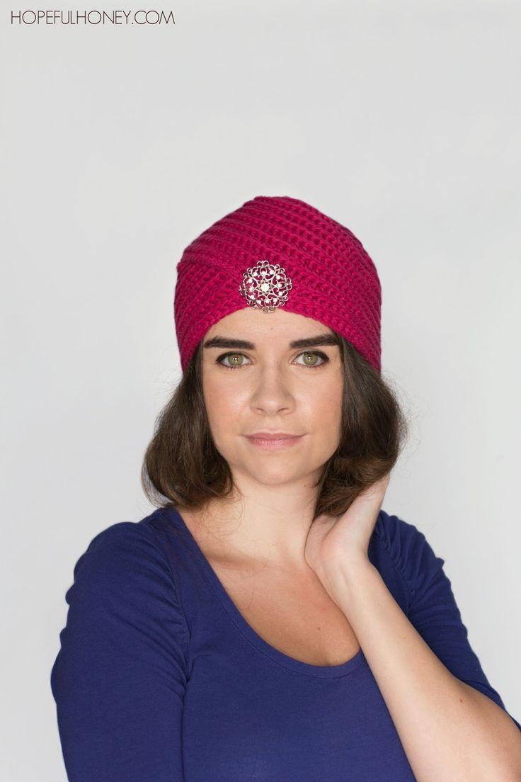 34 best turban knitting images on pinterest turbans knit crochet heather rose turban hat crochet pattern baditri Images
