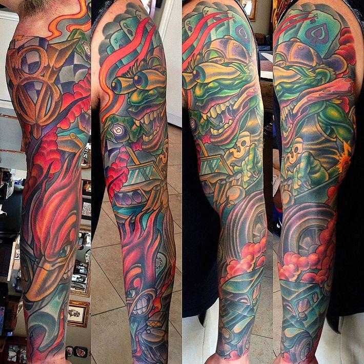 214 Ver 1000 Id 233 Er Om Hot Rod Tattoo P 229 Pinterest Hot Rods