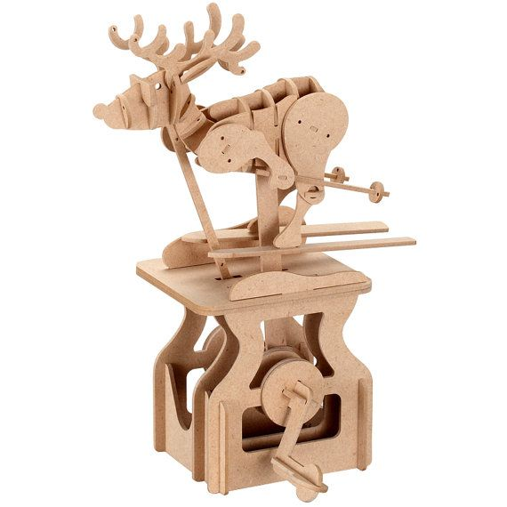 Hey, I found this really awesome Etsy listing at https://www.etsy.com/listing/228877051/3d-wooden-puzzle-moving-model-kit-diy
