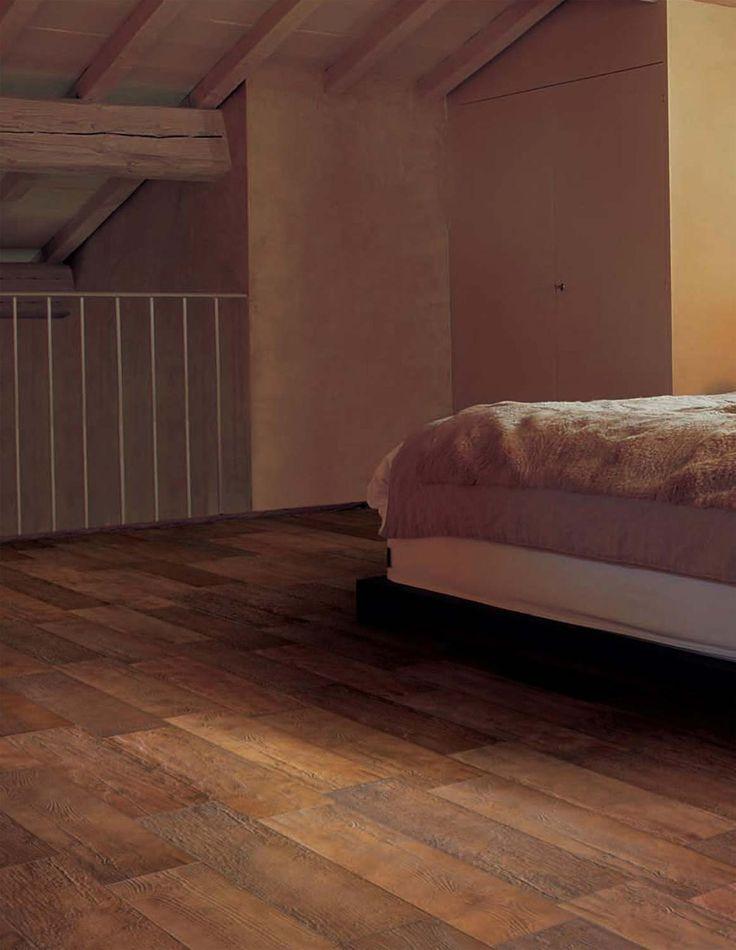ceramic tile as bedroom wood floor
