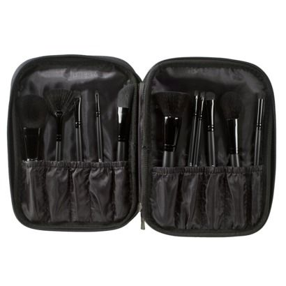 e.l.f. Studio brush Set - this has a 90% rating on makeupalley.com. Only $25 at Target.