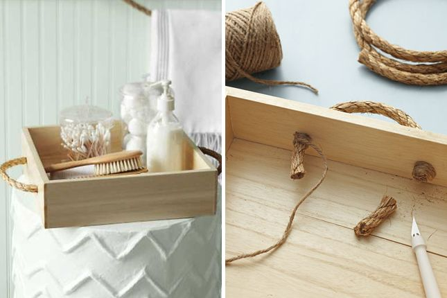 40 Things You Never Knew You Could Do With Rope via Brit + Co.