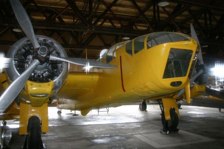 Bolingbroke IVT in the Commonwealth Air Training Plan Museum, Brandon, Manitoba