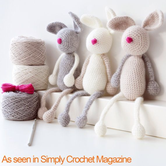 Amigurumi Crochet Kit - Bunny Family