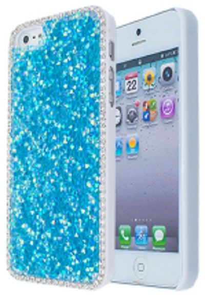 HardCover for Apple iPhone 5/5S with Elements Stardust Blue
