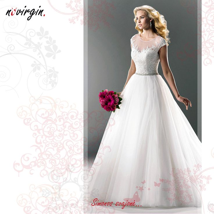 Simonos vestuvinė suknelė / Wedding dress for Simona