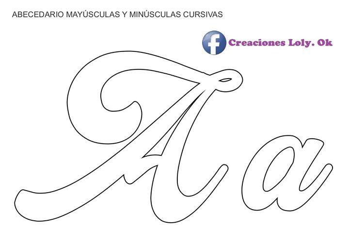 Creaciones Loly Letras Do Alfabeto Para Impressão Molde Alfabeto Alfabeto